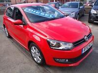 12 VOLKSWAGEN POLO TDI MATCH 5 DOOR DIESEL £20 A YEAR ROAD TAX