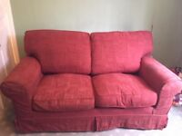 Double sofa bed for sale, with unused replacement covers