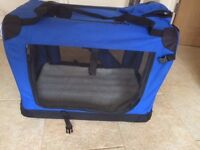 Dog/Cat Pet Crate Travel Pen/Carrier Training Crate Folds away for easy storage
