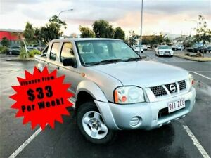 2004 Nissan Navara D22 S2 ST-R Utility Dual Cab 4dr Man 5sp 4x4 3.0DT Silver Manual Utility South Toowoomba Toowoomba City Preview