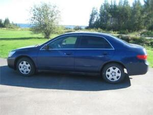 2005 Honda Accord Sdn LX-G