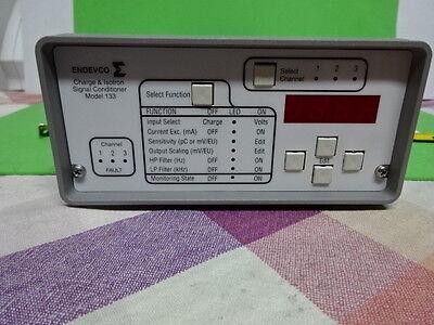 Meggitt Endevco 133 Charge Icp Amplifier Signal For Accelerometer As Is Gar