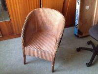 'LLOYD LOOM' BEDROOM CHAIR