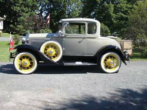 1930 Model A Ford Coupe - Original
