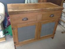 Wooden cabinet with press-metal screen sides Dee Why Manly Area Preview