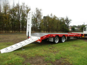 TAG TRAILER (NEW) TANDEM AXLE WITH HYDRAULIC RAMPS Pickering Brook Kalamunda Area Preview