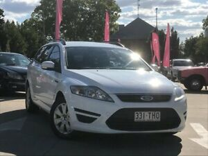2011 Ford Mondeo MC LX PwrShift TDCi White 6 Speed Automatic Wagon South Toowoomba Toowoomba City Preview