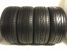 F237 4X 205/55/16 91H CONTINENTAL PREMIUM CONTACT 2X5MM 2X6MM TREAD DOT 2X 3511 2X1312