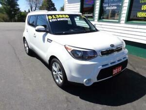 2015 Kia Soul EX for only $132 bi-weekly all in!