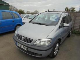 Vauxhall Zafira 1.8 i 16v Elegance 5dr SERVICE HISTORY 7 S