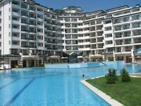 Spacious sea view apartment for summer rental in 5 star resort on Bulgaria Black Sea coast