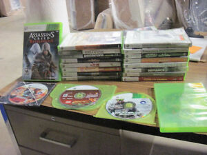 20 XBOX 360 GAMES FOR SALE FIRST $55 TAKES THEM LOOK!!!!!!!