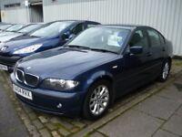 2004 BMW 3 Series 2.0 318i ES 4Door Saloon MOT Till 3rd April 2018 Only 88,000 Miles