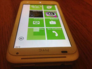 HTC radar4 cellphone Couleur blanc