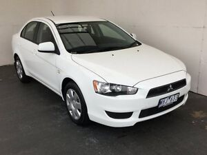 2007 Mitsubishi Lancer CJ MY08 ES White 5 Speed Manual Sedan Mount Gambier Grant Area Preview