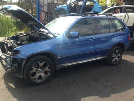 BMW X-Series 4x4 bmw x5 e53 3.0l petrol in blue wrecking complete Northmead Parramatta Area Preview
