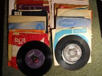 Miscellaneous collection of late 1950's / early 1960's 45rpm singles.