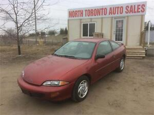 1995 CHEVROLET CAVALIER - LOW KM - VALID E TEST - AUTOMATIC