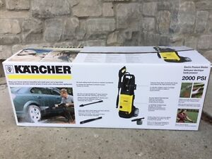 REDUCED - Karcher 2000 PSI Electric Pressure Washer- Like New!