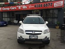 2008 Holden Captiva CG MY08 LX 60th Anniversary (4x4) White 5 Speed Automatic Wagon Fawkner Moreland Area Preview