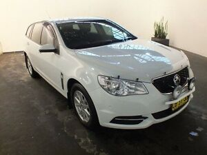 2014 Holden Commodore VF Evoke White 6 Speed Automatic Sportswagon Clemton Park Canterbury Area Preview