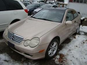 2003 Mercedes Benz C230  COMPRESOR-NO ACCIDENT * CERTIFY * CLEAN