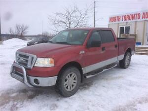 2008 FORD F-150 XLT - 4X4 - AUTOMATIC - CLEAN TRUCK - ALLOY RIMS
