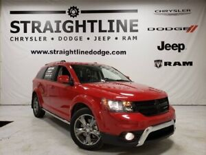 2017 Dodge Journey Crossroad, BackUp Camera, Sunroof, 3.6L, All