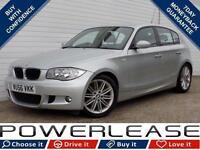 2006 56 BMW 1 SERIES 1.6 116I M SPORT 5D 114 BHP