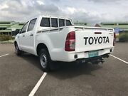2010 Toyota Hilux GGN15R MY10 SR White Automatic Utility Mount Druitt Blacktown Area Preview