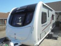 2013 Swift Conqueror 565 4 Berth Caravan For Sale.End Washroom. Motormover