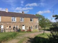 Recently Redecorated Traditional Stone Built Unfurnished Property on a fully working farm.