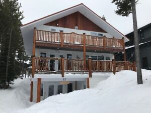 Cabin at Castle Mountain Resort with Hot Tub and  7 Beds