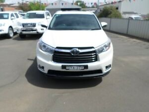 2014 Toyota Kluger GSU55R Grande AWD Crystal Pearl 6 Speed Sports Automatic Wagon Young Young Area Preview