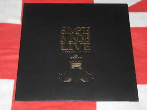 SIMPLE-MINDS-Live-In-The-City-of-The-Light-Gold-embossed-boocket-Ita-press-LMT