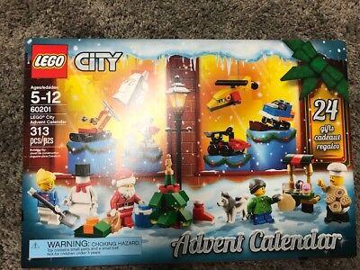 Lego City Advent Calendar Set 60201 - NEW IN BOX