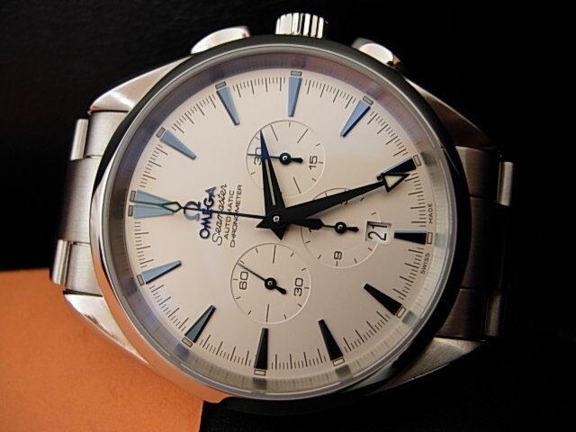 Omega AQUA TERRA Seamaster 150m – Chronograph – 2512.3000 – TOP CONDITION - watch picture 1