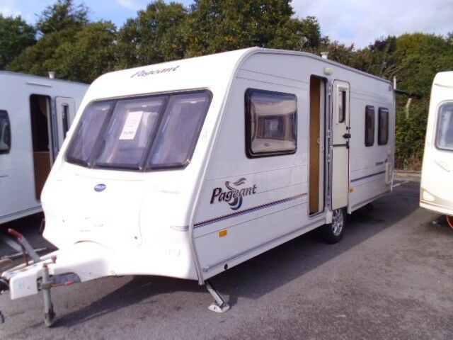 2004 Bailey Pageant Bordeaux 4 Berth FIXED BED Inc an ...