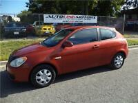 2007 HYUNDAI ACCENT HATCHBACK GS**4 CYL FUEL ECONOMY!