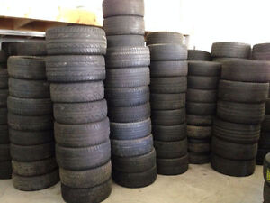 """Large Quantity Of Tires For Sale - 16""""-22"""""""