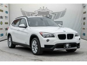 2014 BMW X1 xDrive28i PREMIUM PKG PANORAMIC ROOF LEATHER AWD