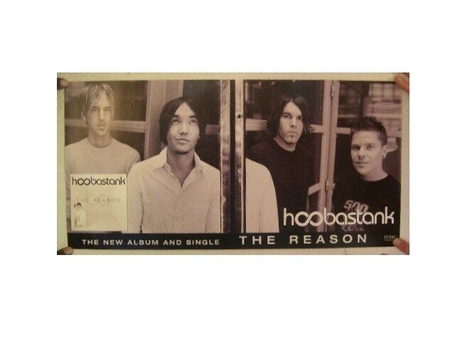 Hoobastank Poster  The Reason  Two Sided