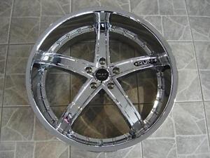 """Kit roues de mag et pneus neufs 22"""" #M02"""