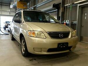 2001 Mazda MPV sold as is