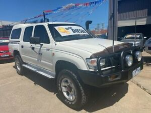 2003 Toyota Hilux KZN165R (4x4) White 5 Speed Manual 4x4 Dual Cab Pick-up Brooklyn Brimbank Area Preview
