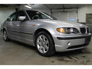 *Safetied* 2002 BMW 3 Series 320i *SunRoof*Leather*LowKm*