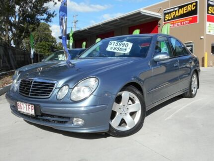 2004 Mercedes-Benz E320 W211 Avantgarde Pearl Grey 5 Speed Auto Tipshift Sedan Coopers Plains Brisbane South West Preview