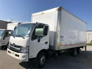 2017 Hino 195 - CabOver - 18 Ft Straight Truck