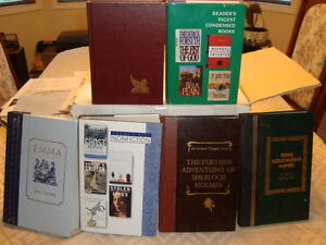 READERS DIGEST HARD COVER BOOKS
