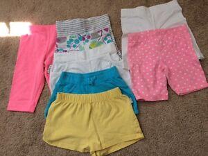Girls OshKosh,Carters, Old Navy & Children's Place shorts
